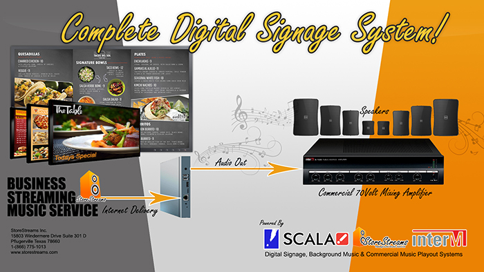 StoreStreams Digital Signage & Business Music Service